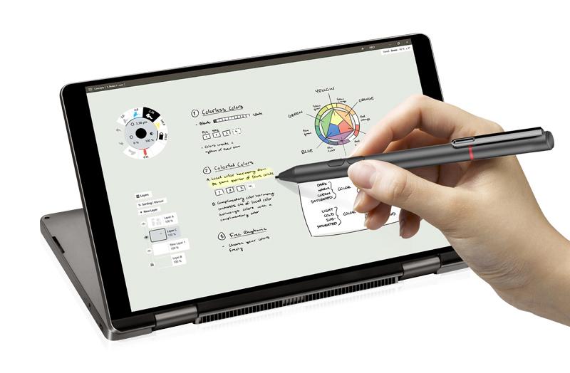 4096段階で筆圧を検知するスムーズな書き心地